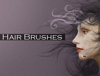 Hair Brush Set Photoshop brush