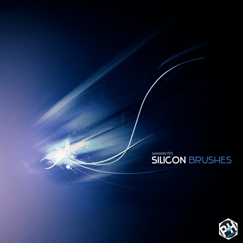 Silicon Brushes Photoshop brush