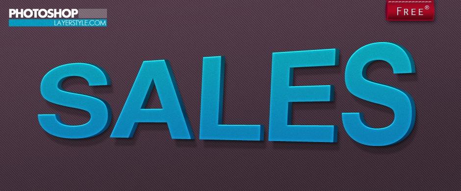 Sales Layer Style Photoshop brush