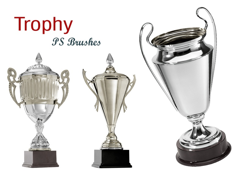 20 Trophy PS Brushes abr. vol.1 Photoshop brush
