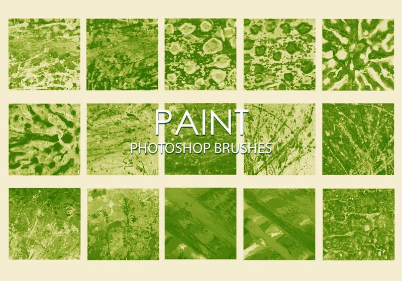 Free Dirty Paint Photoshop Brushes 5 Photoshop brush