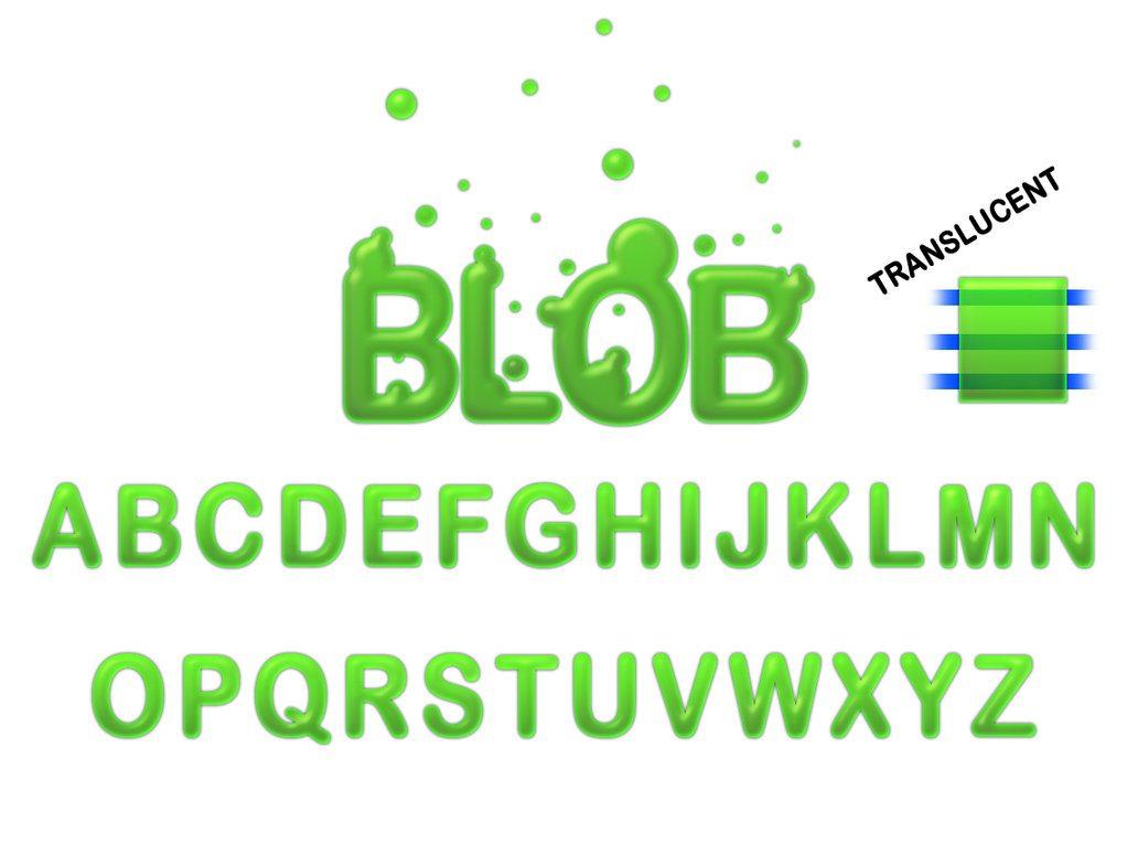 Blob Style Photoshop brush