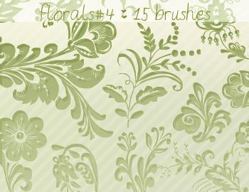 Floral Brushes 4 Photoshop brush