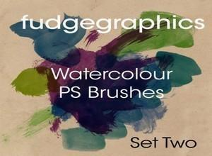WaterColour Brush Set 2 Photoshop brush