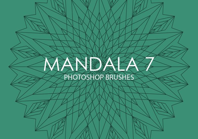 Free Mandala Photoshop Brushes 7 Photoshop brush