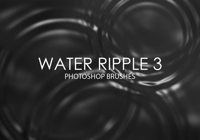 Free Water Ripple Photoshop Brushes 3 Photoshop brush