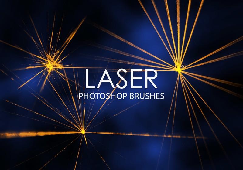 Free Laser Photoshop Brushes Photoshop brush