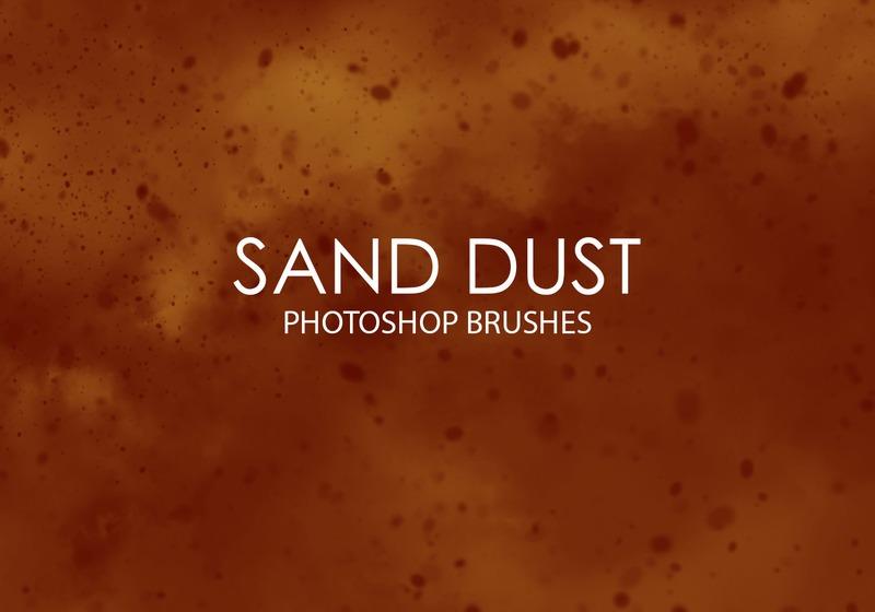 Free Sand Dust Photoshop Brushes Photoshop brush
