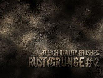 Rusty Grunge Photoshop brush