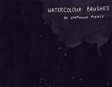 SP Watercolour Brushes Photoshop brush