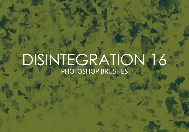 Free Disintegration Photoshop Brushes 16 Photoshop brush