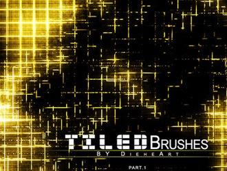 Tiled Brushes Set 1 Photoshop brush