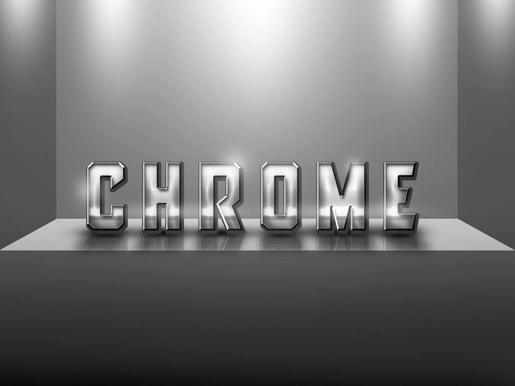 Chrome Style Photoshop brush