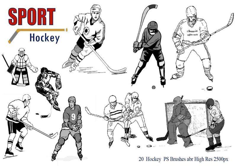 Hockey Ps Brushes abr. Photoshop brush