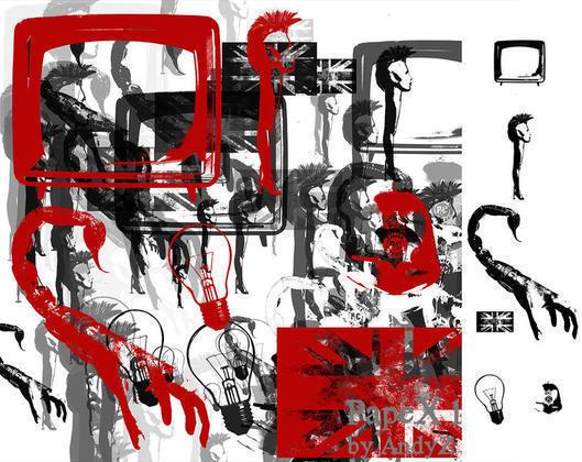 PapeX One Punk Brushes Photoshop brush