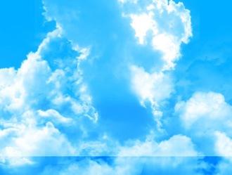 HighRes Cloud Brushes Photoshop brush