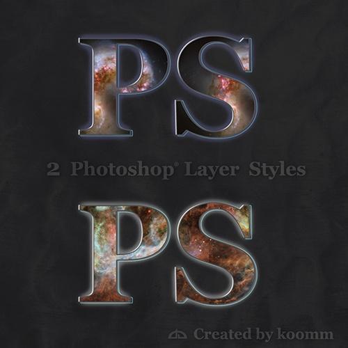 Nebula Photoshop Styles Photoshop brush
