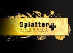 Splatter Plus Photoshop brush