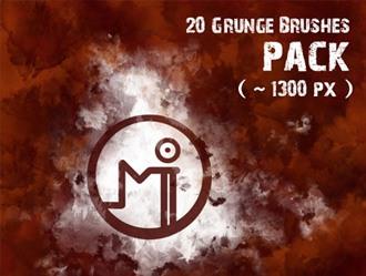 Grunge Brush Pack Photoshop brush