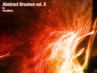 Abstract brush pack Photoshop brush