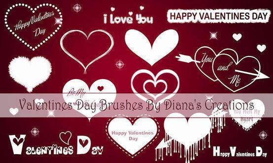Valentines Day Brushes Photoshop brush