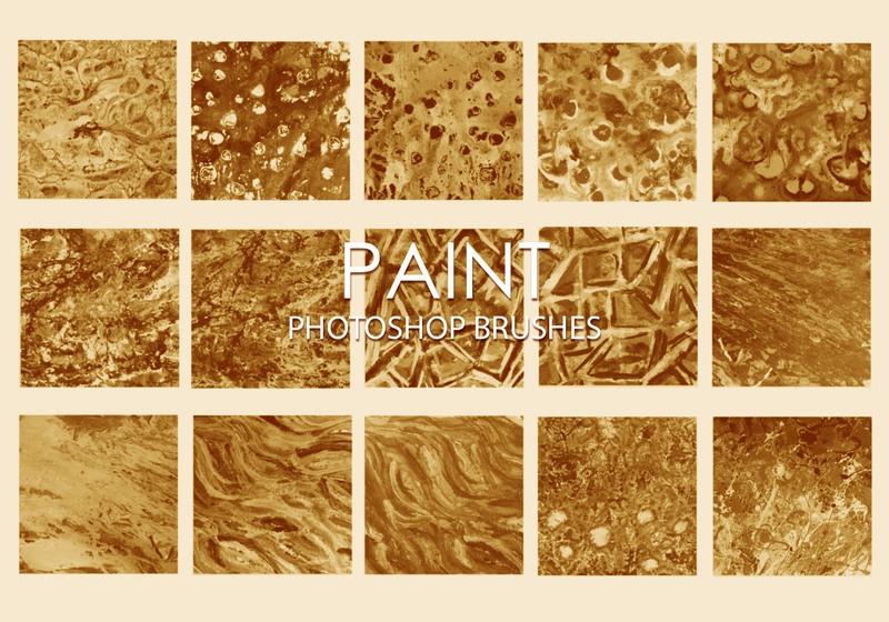 Free Dirty Paint Photoshop Brushes 6 Photoshop brush