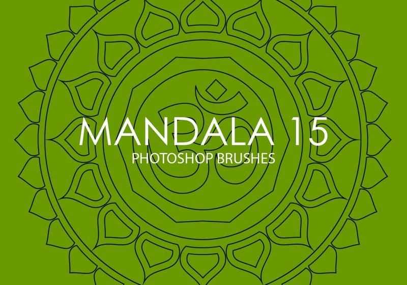 Free Mandala Photoshop Brushes 15 Photoshop brush