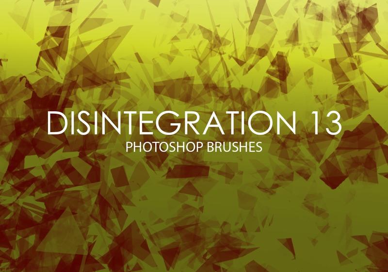 Free Disintegration Photoshop Brushes 13 Photoshop brush