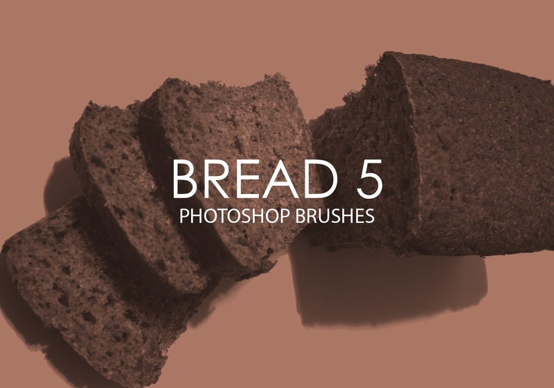 Free Bread Photoshop Brushes 5 Photoshop brush