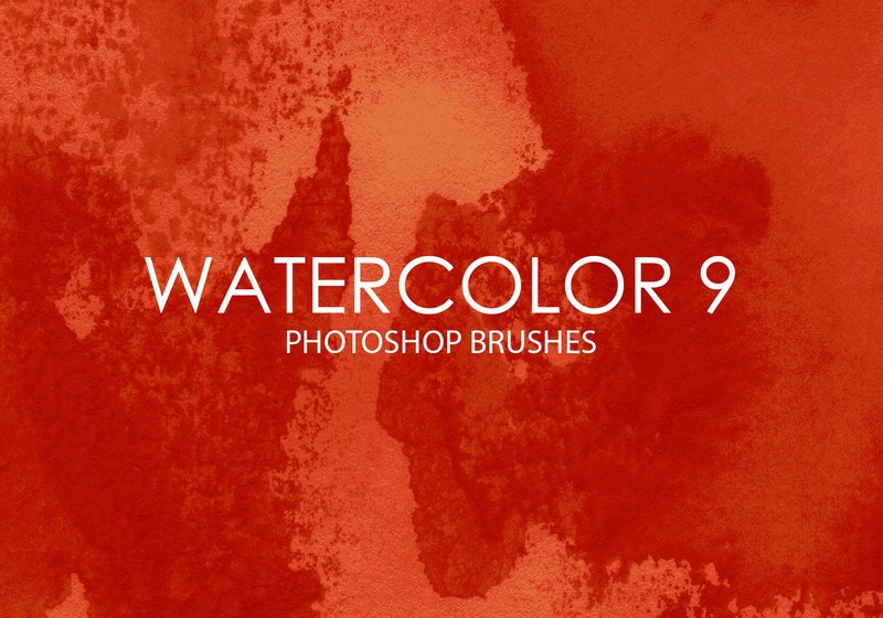 Free Watercolor Photoshop Brushes 9 Photoshop brush