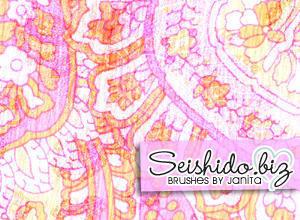 FREE Seishido.biz Ornament Brushes  Photoshop brush