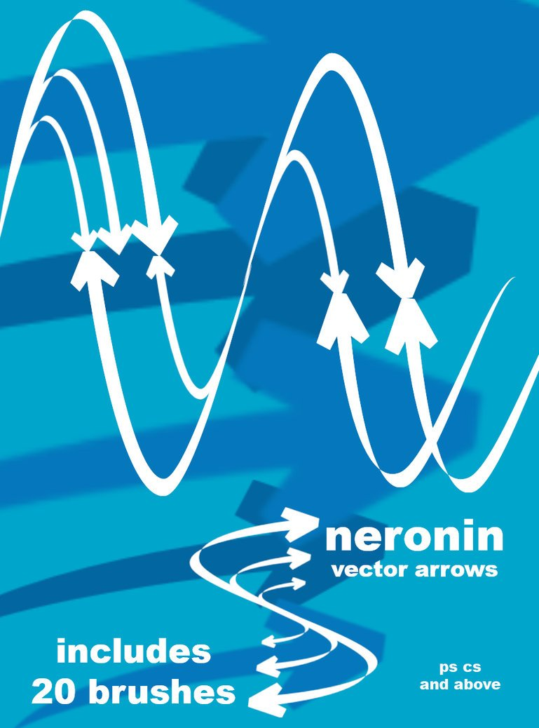 Vector Arrow Photoshop brush