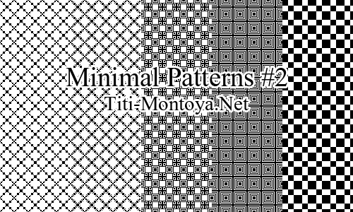 Minimal Patterns #2 Photoshop brush