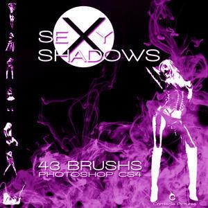 Sexy Shadows Brush Pack Photoshop brush