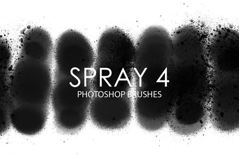 Free Spray Photoshop Brushes 4 Photoshop brush