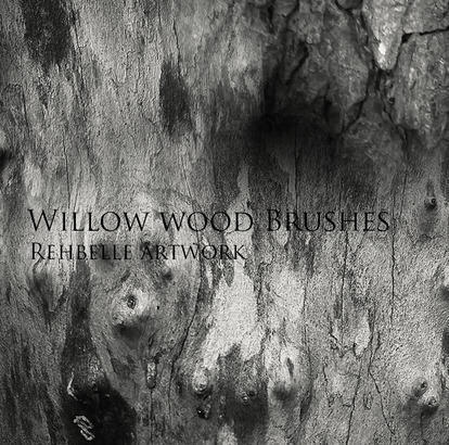 Wood Brushes the sequel - Rehbelle Photoshop brush