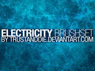 Electricity Brush Set Photoshop brush