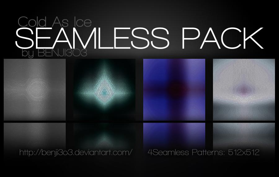 Seamless - Cold As Ice Photoshop brush