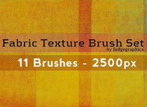 Fabric Texture Brushes Photoshop brush