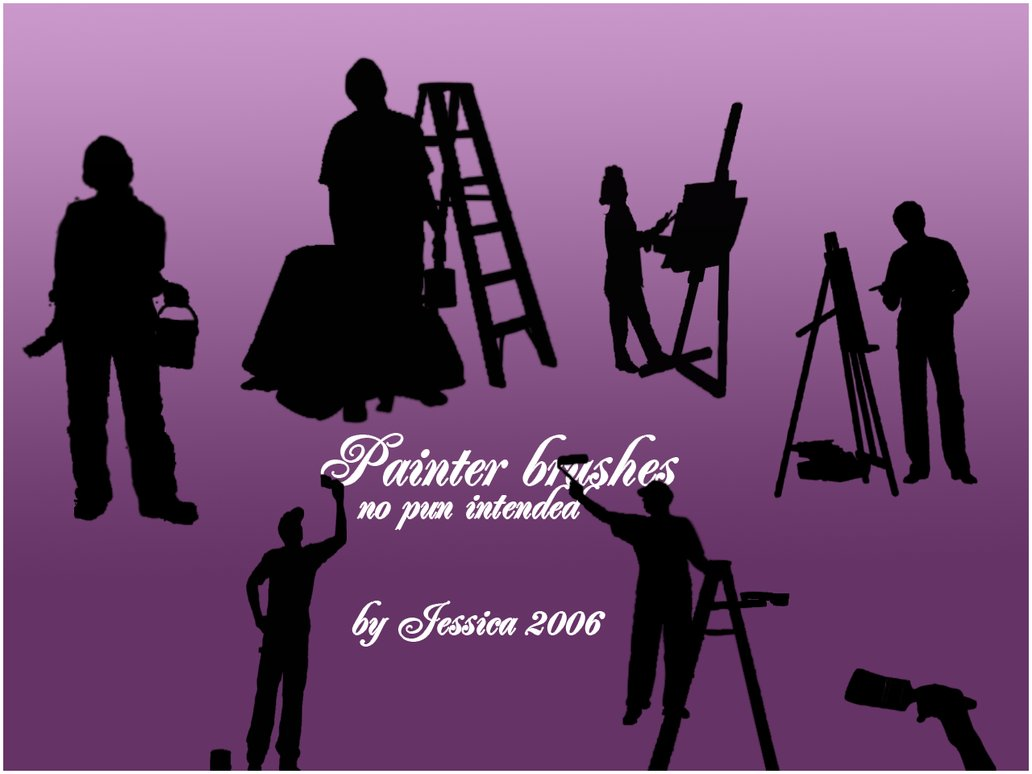 Painter brushes Photoshop brush