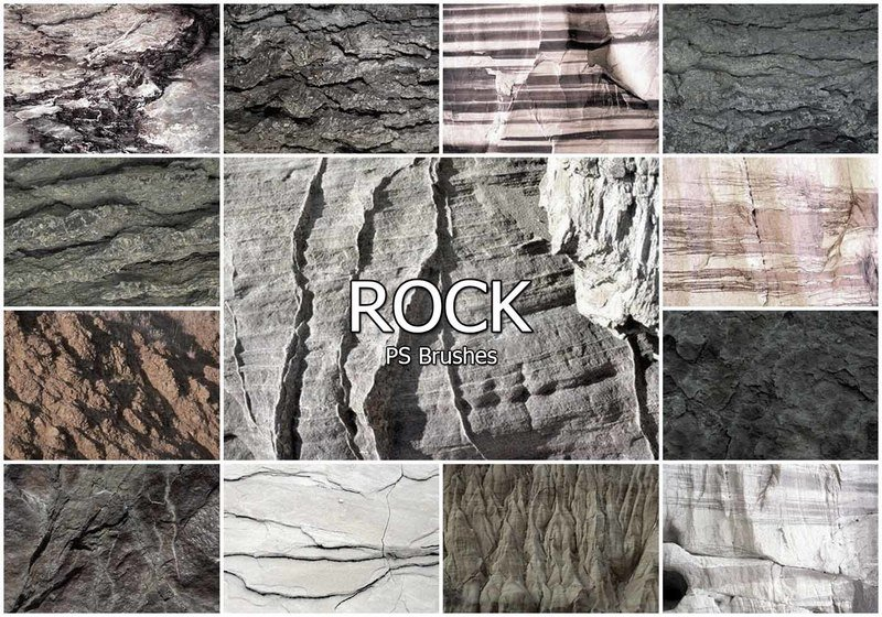 20 Rock PS Brushes abr vol.18 Photoshop brush