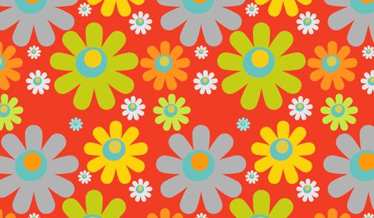 Flower Patterns Photoshop brush