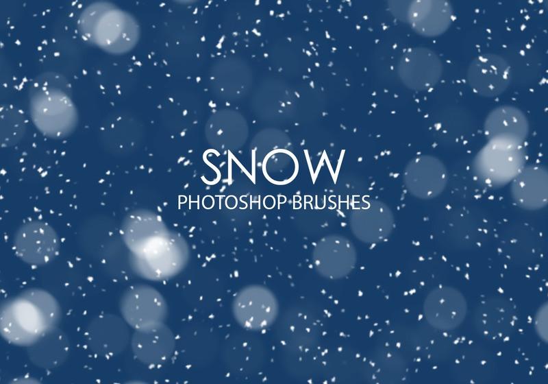 Free Snow Photoshop Brushes Photoshop brush