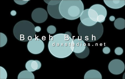 Brokeh Brush Stamps Photoshop brush