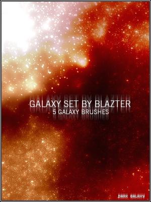 Galaxy Set Photoshop brush