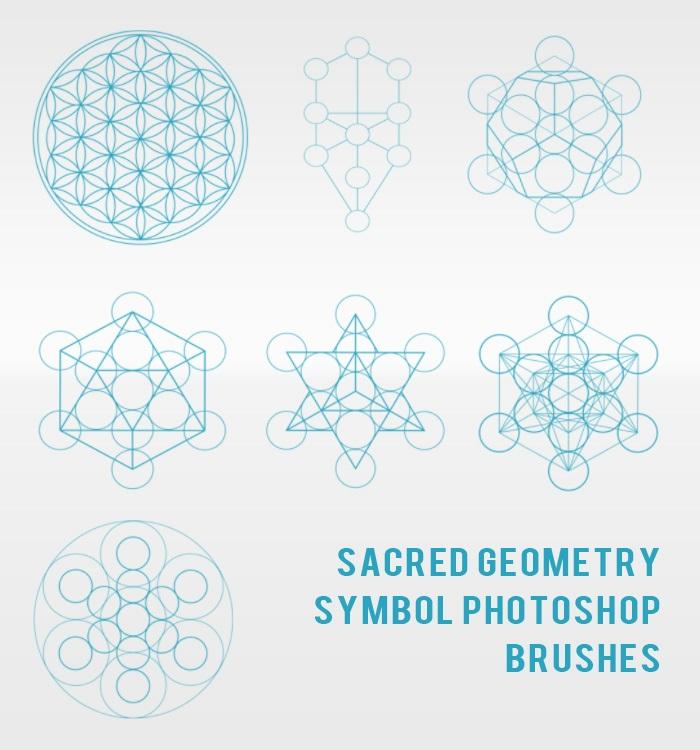 Sacred Geometry Symbol Photoshop Brushes Photoshop brush