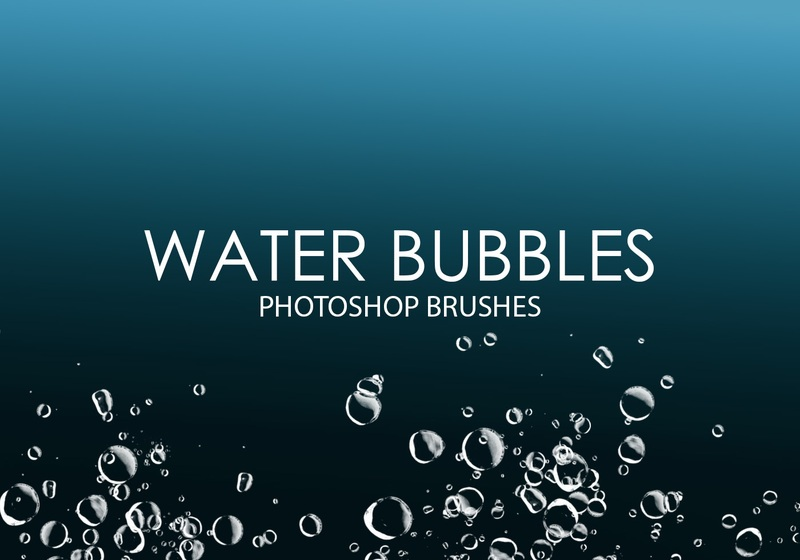 Free Water Bubbles Photoshop Brushes  Photoshop brush