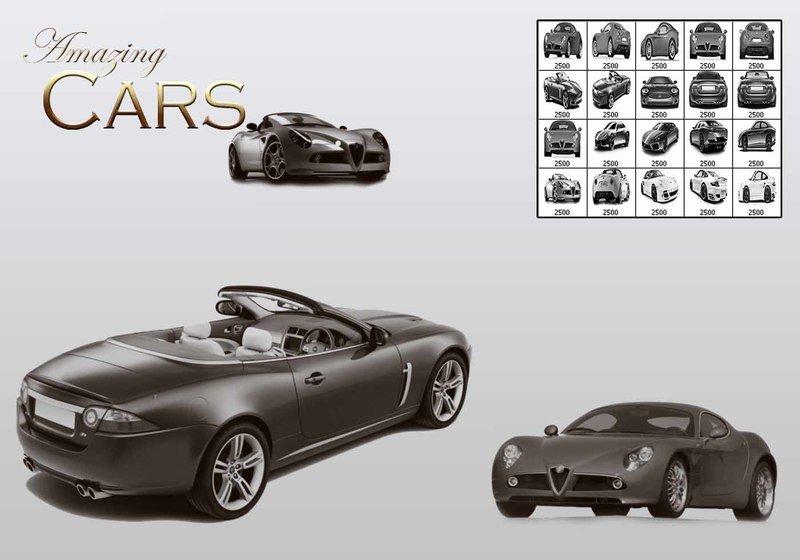Amazing Cars PS Brushes Photoshop brush