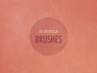 Subtle Grunge Photoshop Brush Set 2 Photoshop brush