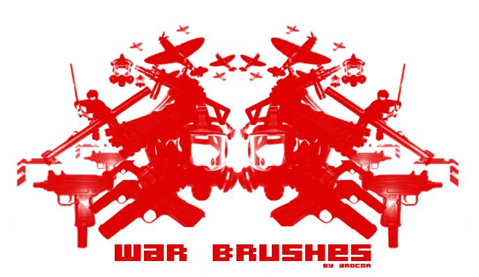War Brushes Photoshop brush